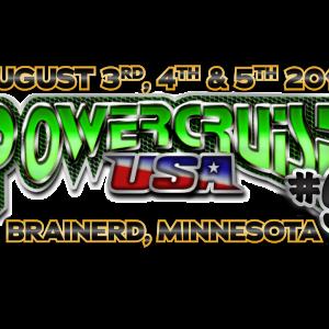 Powercruise BIR 2018 logo date