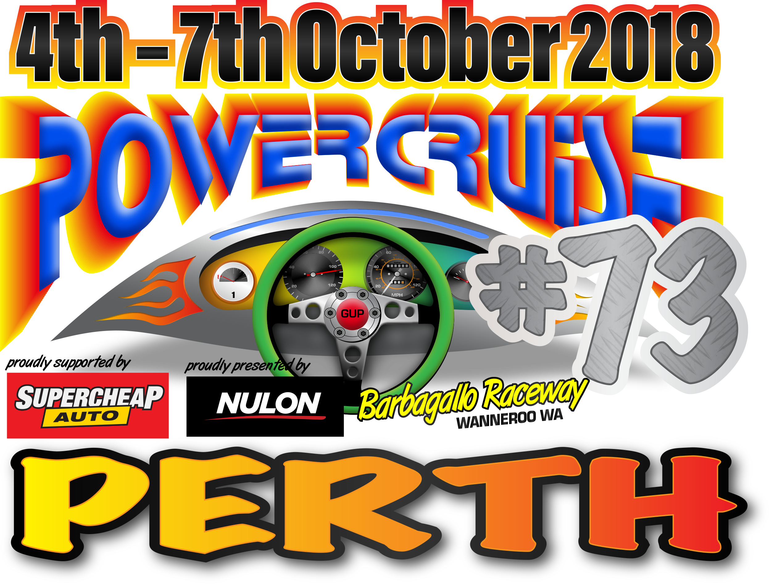 powercruise perth logo date