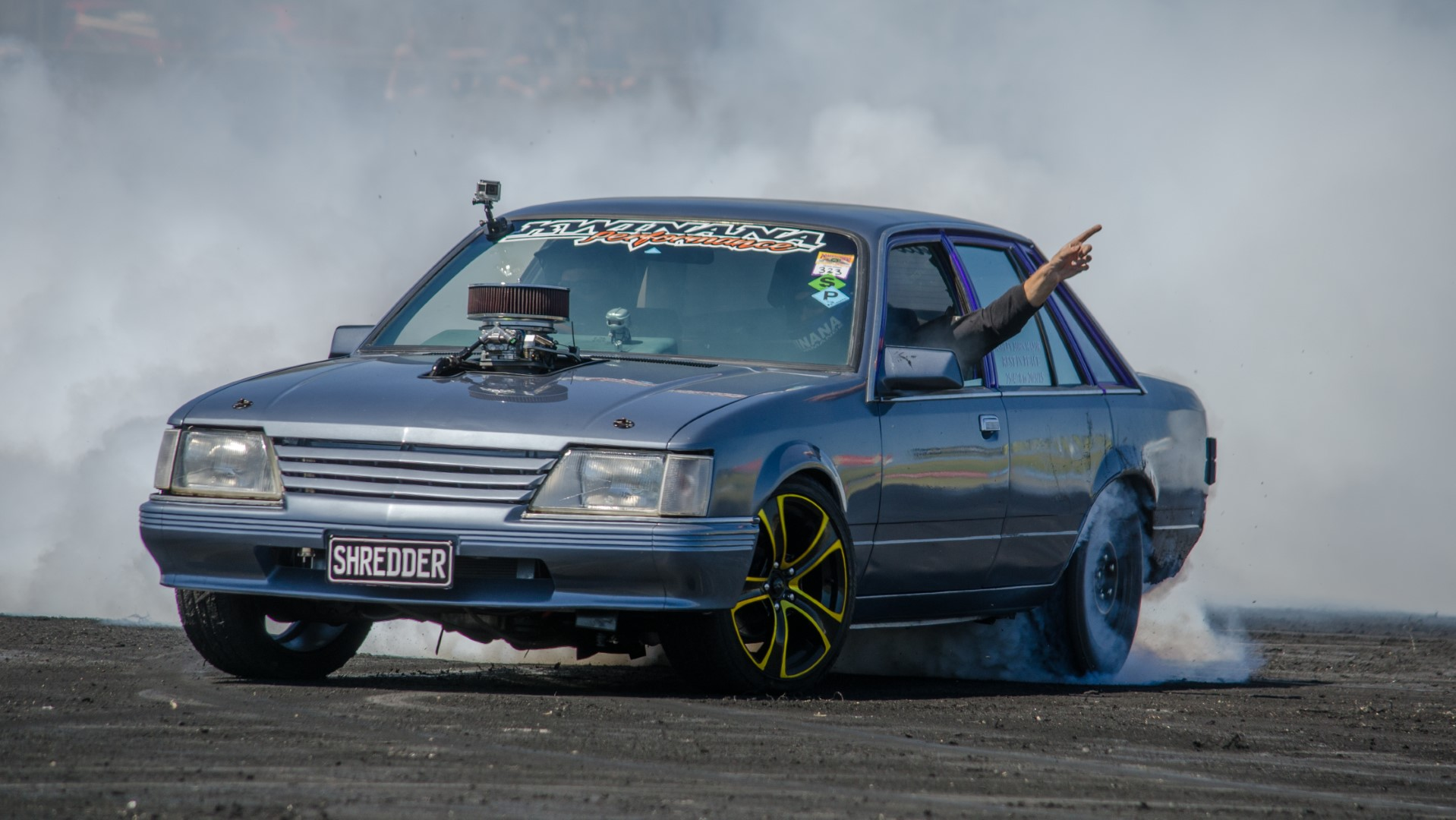 Barbagallo Raceway Perth Powercruise Burnout