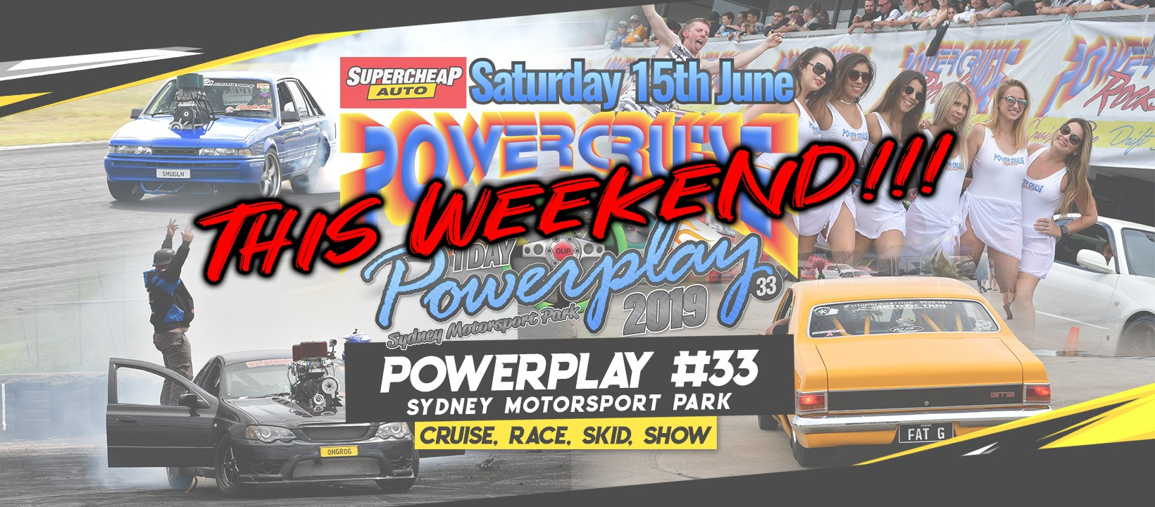 Powerplay is coming to Sydney 15th June – Get event ready!