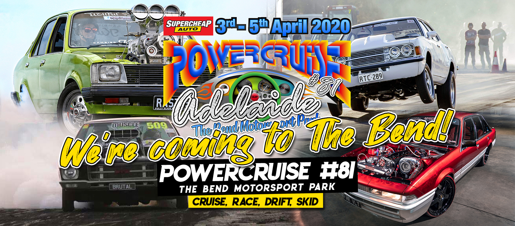 MEDIA RELEASE FROM POWERCRUISE MANAGEMENT TODAY 18th March 2020